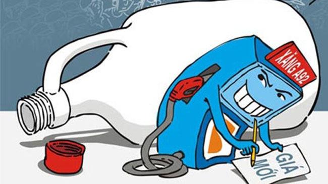 2h chiều nay 18/12/2013, xăng tăng giá gần 600 đồng một lít