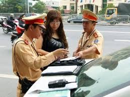 Sử dụng giấy phép lái xe, đăng ký xe photo bị xử lý thế nào