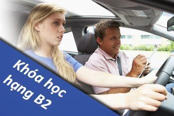 học bằng lái xe oto b2