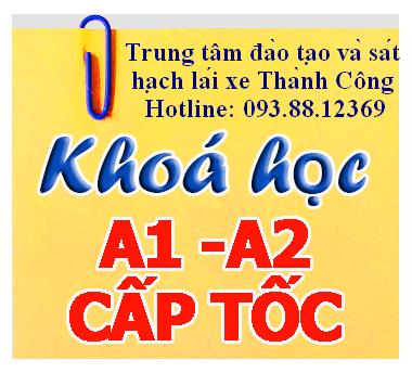 Thi bằng lái xe A2 tại Hồ Chí Minh