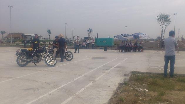Thi bằng lái xe A2 tại Hà Nội