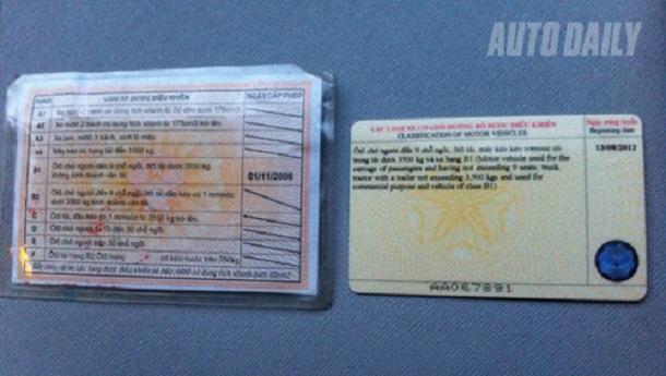Quy định mới về chuyển đổi giấy phép lái xe