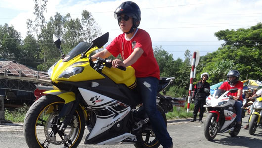 hướng dẫn cách chạy xe côn xe, xe moto