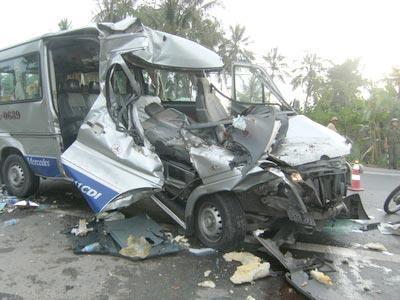 Lái xe buồn ngủ, chạy quá tốc độ dễ gây tai nạn đáng tiếc