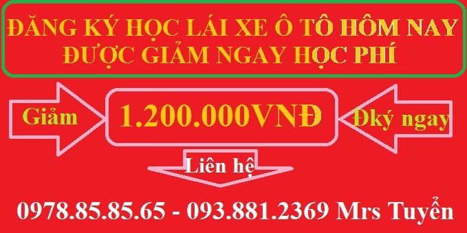 Học bằng lái xe oto tại Quận 10, Quận 11 Tp Hồ Chí Minh