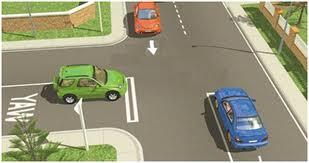 quy định các loại xe oto giao nhau
