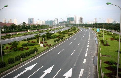 đường đại lộ thăng long